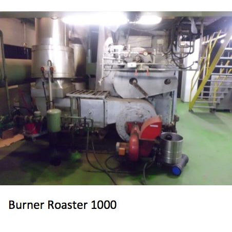 165 x 5 kilo batch: Probat RO1000 Roaster