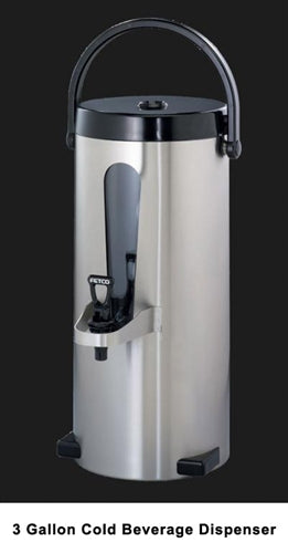 3 Gallon: FETCO Iced Tea/Coffee Extractor Brewer