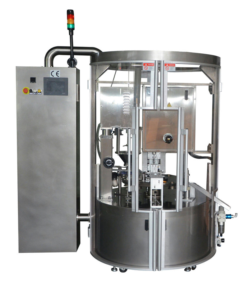 Rotary Automatic K-cup Filling and Sealing Machine