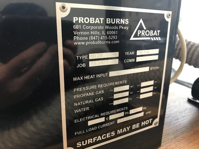 Double Barrel Probat Sample Roaster