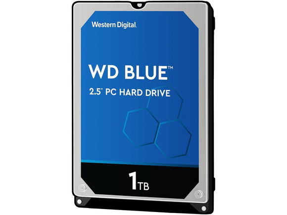 WD Blue 1TB 5400 RPM 7mm 128MB Cache SATA 6.0GB/S 2.5