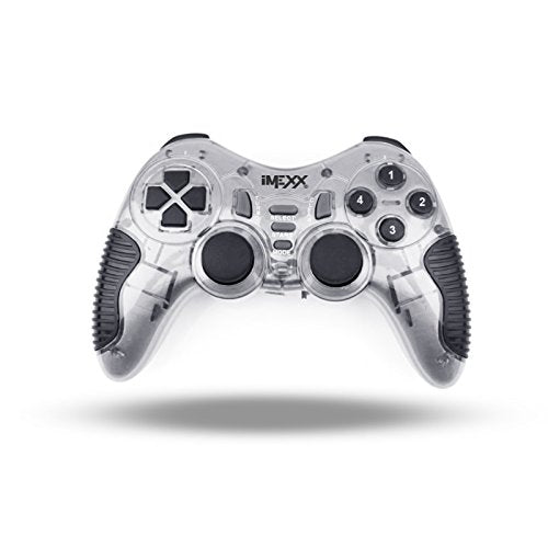IMEXX GAMEPAD - USB 2.0 DELUXE DUAL SHOCK GAME PAD CONTROLLER FOR PC