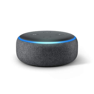 Echo Dot (3rd Gen) -Smart Speaker with Alexa - Charcoal