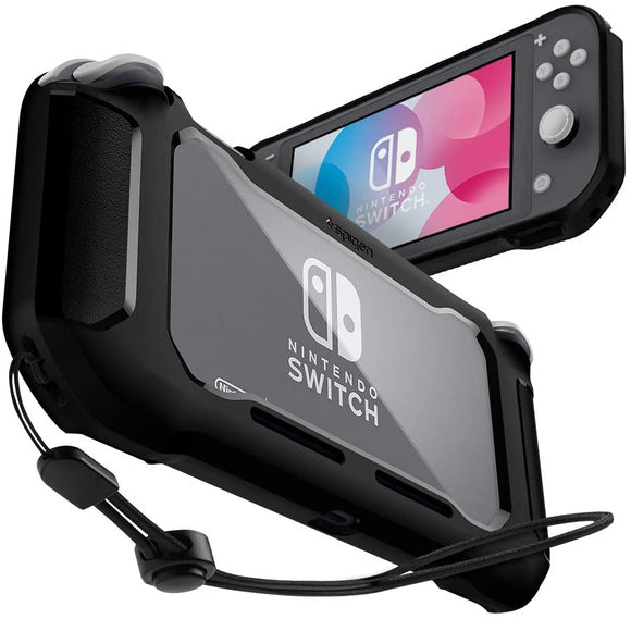 Spigen Rugged Armor Designed for Nintendo Switch Lite Case - Matte Black