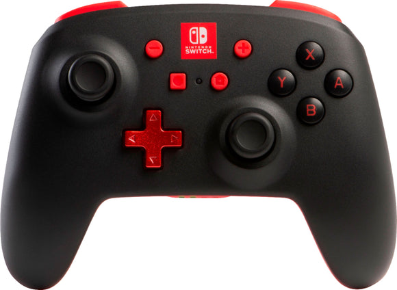 PowerA Enhanced Wireless Controller for Nintendo Switch - BLACK