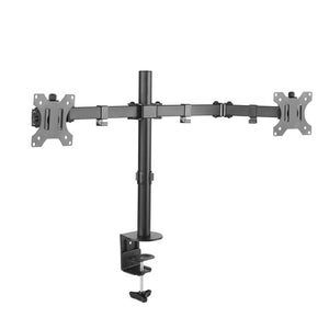 "ARGOM Dual Monitor 32"" Desk Mount with Clamp"
