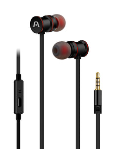 Argom Ultimate Sound Klass Earbuds - BLACK