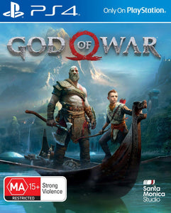 God of War - PlayStation 4 (PS4) Game