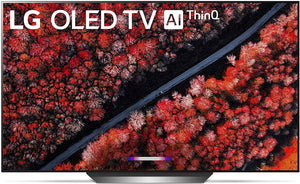 "LG C9 Series Smart 77"" 4K Ultra HD with Alexa Built-in OLED TV"