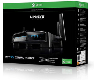 Linksys WRT Gaming WiFi Router Dual Band 4 Gigabit Port AC3200 (WRT32XB)