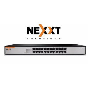 NEXXT Fast Ethernet Switch 24-Port 10/100Mbps (Black)