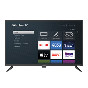 "ONN 32"" Class 720P HD LED Roku Smart TV"