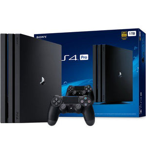 PlayStation 4 PRO 1TB - PS4 Console Jet Black