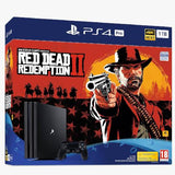 Sony PlayStation 4 Pro 1TB - Red Dead Redemption 2 Console Bundle