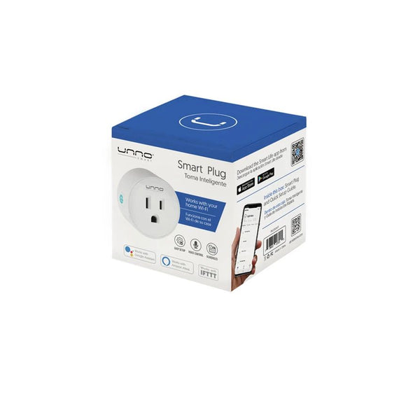 Unno Tekno Single Smart Plug White