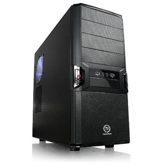 Thermaltake V3 Black Edition ATX Mid Tower Computer Case  (Black )