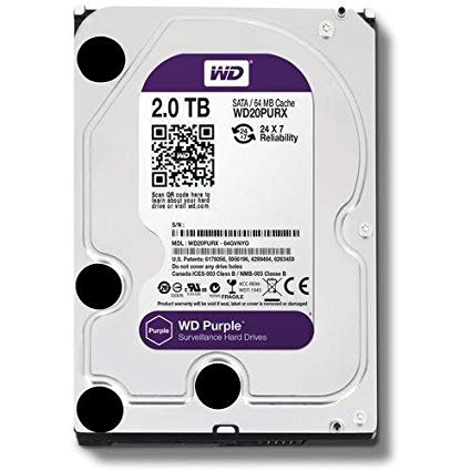 Western Digital WD Purple 1TB Surveillance Hard Drive