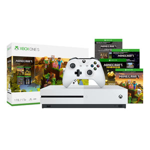 Xbox One S 1TB Console - Minecraft Creators Bundle
