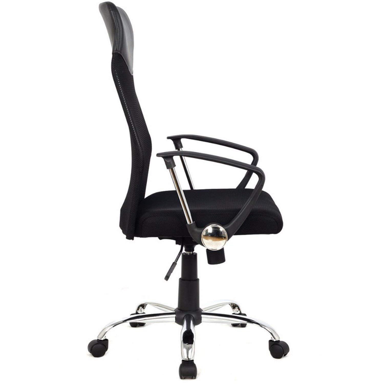 ergonomic mesh computer office desk midback task chair with metal