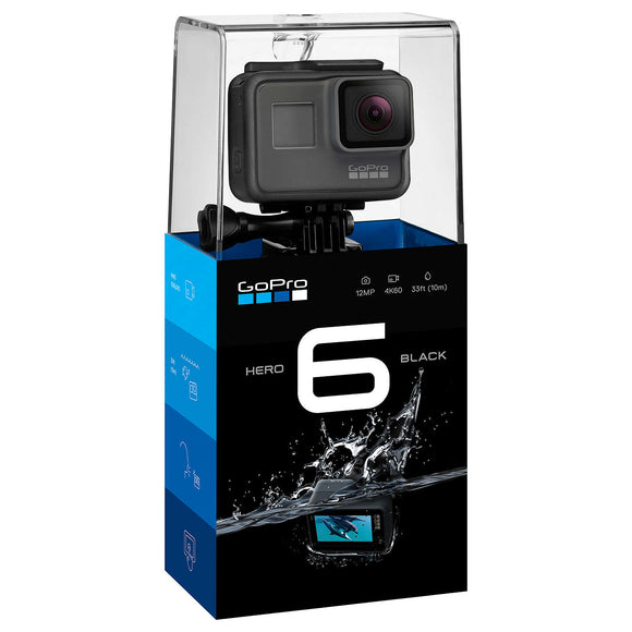 GoPro HERO6 Black and 16GB Memory Card with Adapter