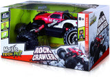 Maisto R/C Rock Crawler Radio Control RC Toy Car Vehicle