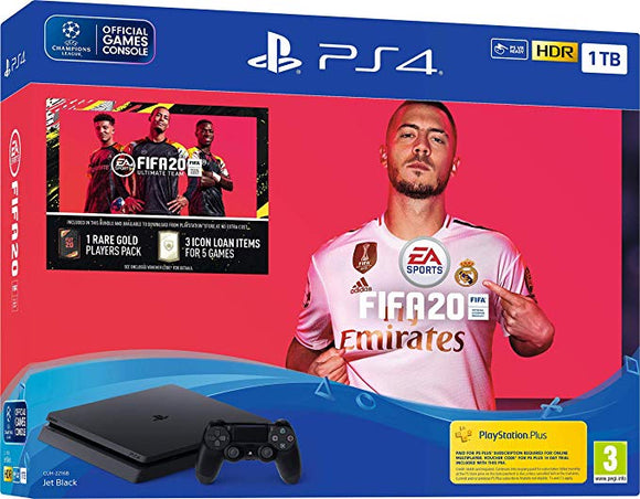 Playstation 4 Fifa 20 (PS4) Bundle 1TB