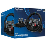 Logitech Driving Force G29 Race Steering Wheel with Responsive Pedals for PlayStation 4