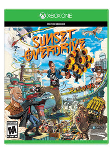Sunset Overdrive Game Xbox One