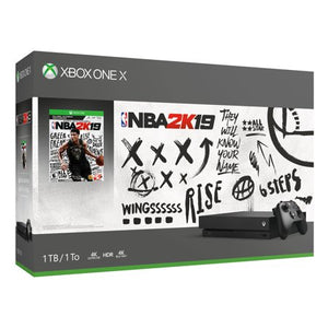 Xbox One X 1TB Console - NBA 2K19 Bundle Open Box
