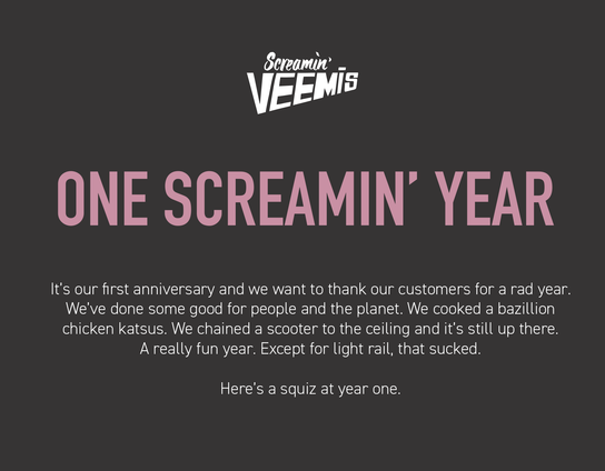 One Screamin' Year