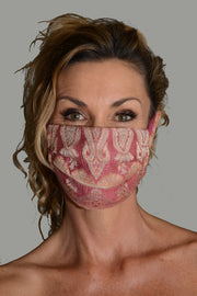 Helena - Hand Cut Silk Face Mask