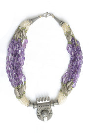 Martina Amethyst and Alexandrite Necklace