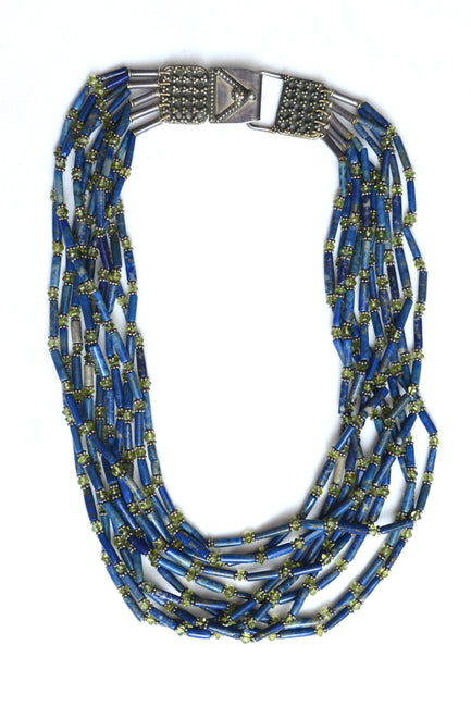 Hisyam Durmortierite Necklace