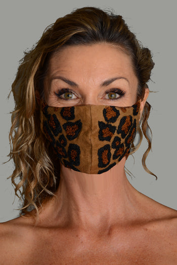 Wheeler - Cotton Flanel Wool Embroidery Face Mask
