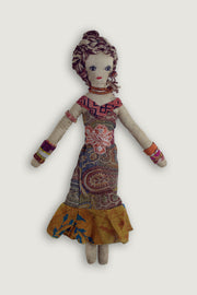 Hand Made Pure Silk Sophia Doll