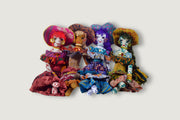 Hand Made Pure Silk Polly Doll