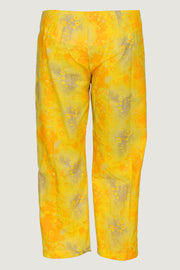 Massa - Cotton Print 3/4 Women's Pants