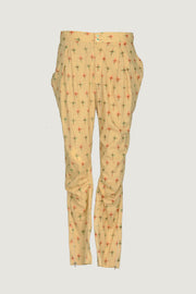 Arlene - Cotton Light Voile Printed Pants