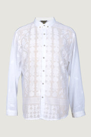 Walter - Cotton Featherlight Jacquard with Metal Buttons