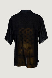 Frank - Cotton Featherlight Jacquard With Hand Carved Bone Buttons