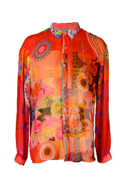 Baxter Shirt - Georgette Digital Print