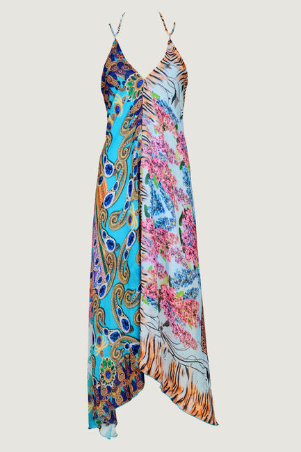 Soniabella Chiffon Dress- Georgette Mixed Prints