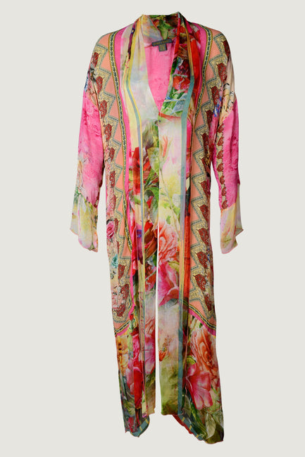 Georgette Cape - Chiffon Digital Printed