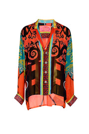 Chester - Georgette Digital Print Shirt
