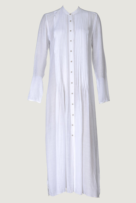 Czarina - Cotton Silk Long Dress