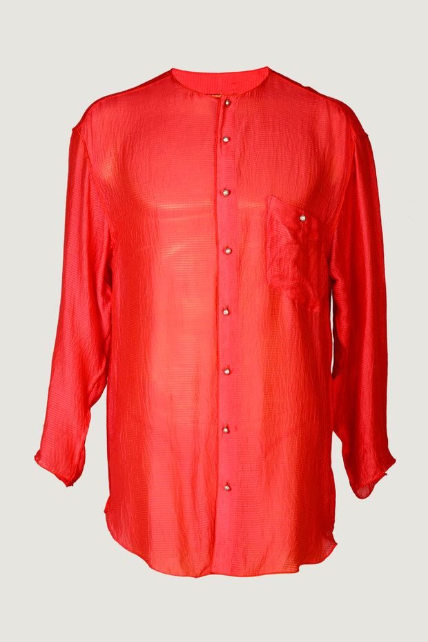 Peter - Silk Cotton Men's Shirt