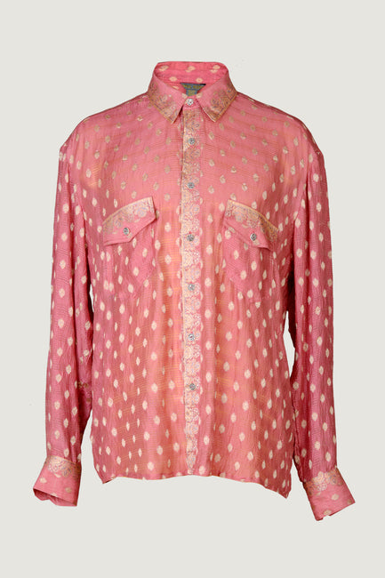 Dylan Shirt - Hand Cut Silk Men's Shirt