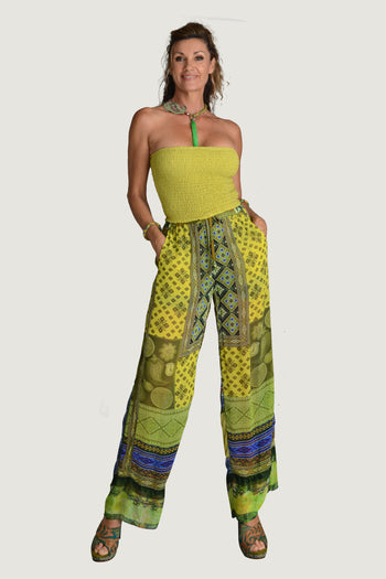 Syalita - Georgette Digital Print Long Pants