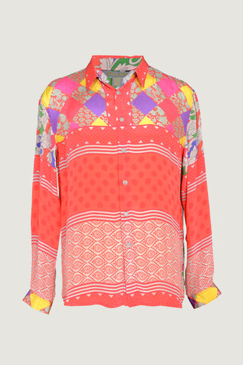 Koppola - Crepe Digital Print Men Shirt