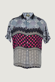Bruce - Crepe Digital Print Men Shirt